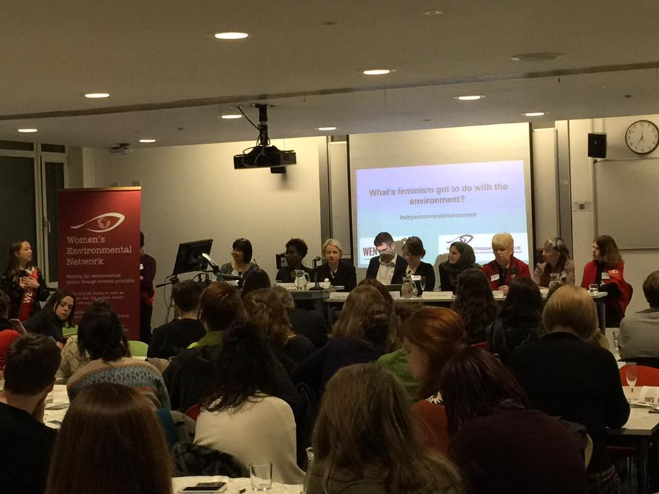 The WEN Forum January 2017 - What's Feminism got to do with the Environment? - with keynote speaker Natalie Bennett, Former Leader, Green Party England and Wales
