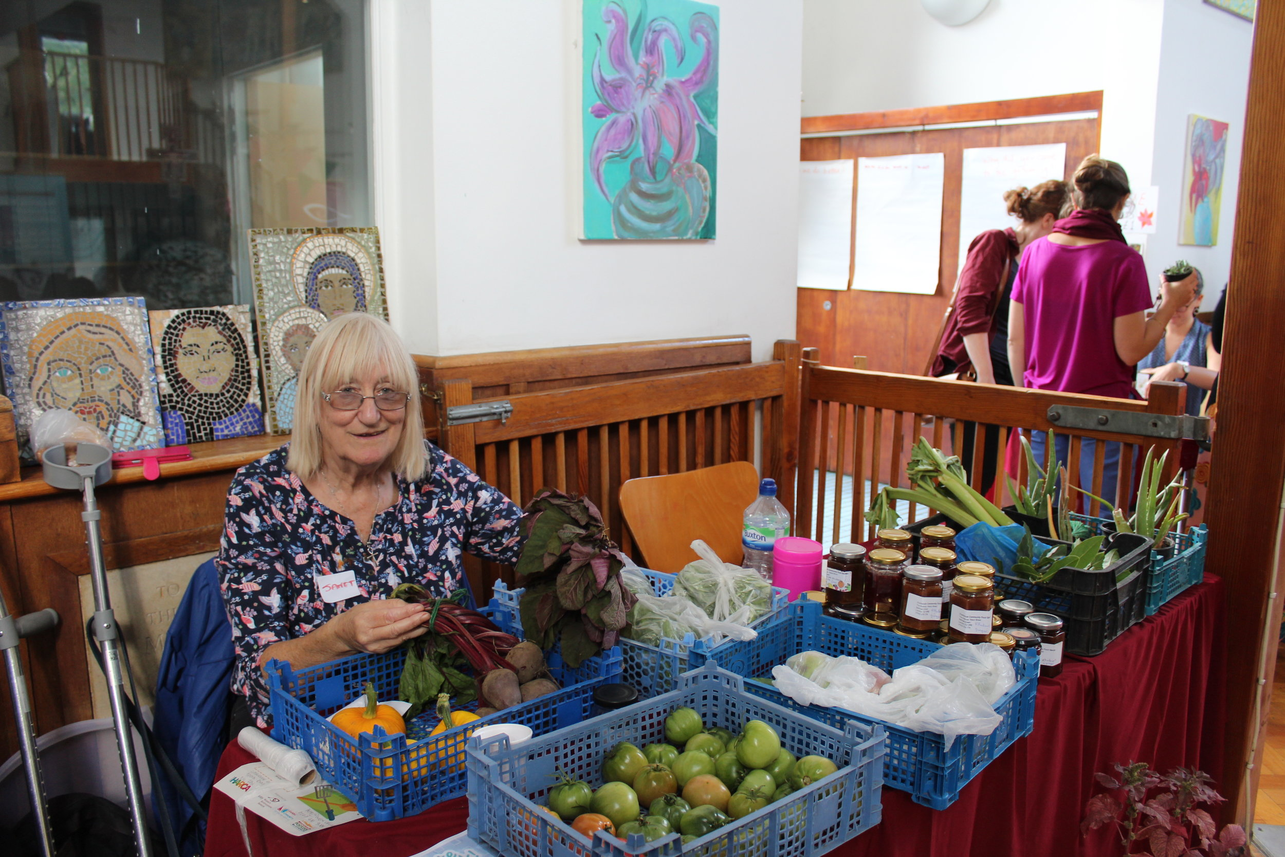 Cranbrook Community Garden's stall