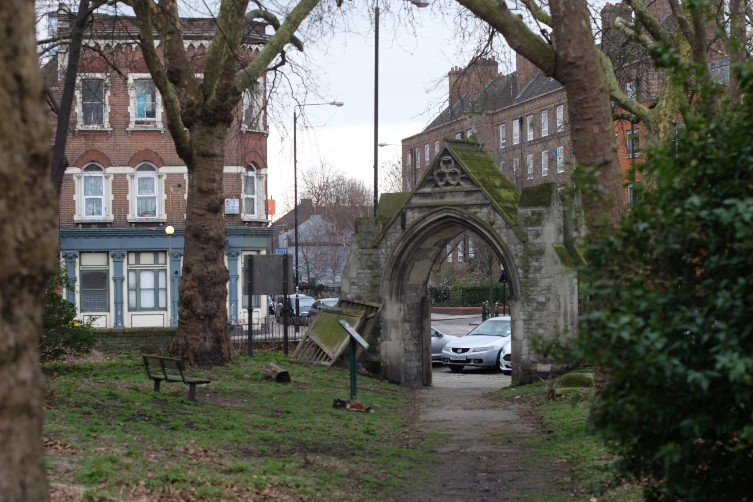 The priory entrance