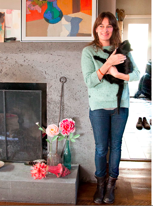 Author, floral stylist, and paper flower artist Livia Cetti