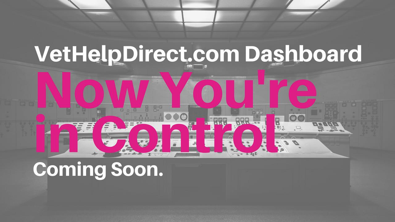 VetHelpDirect Dashboard for Vtes
