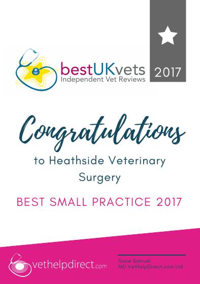 Heathside Vets - Best Small Practice