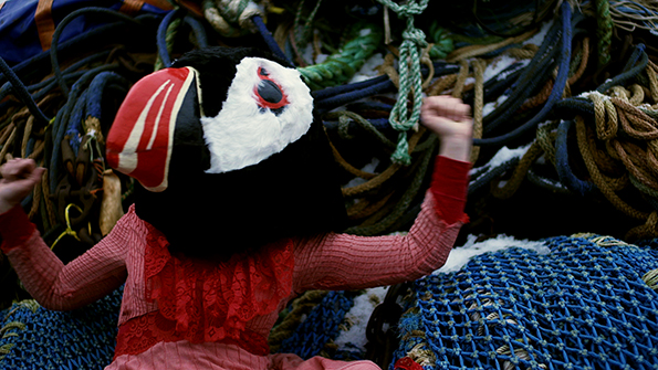 Still from 'Material Puffin'