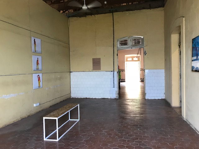 Installation view @ Old Goa Institute of Management.