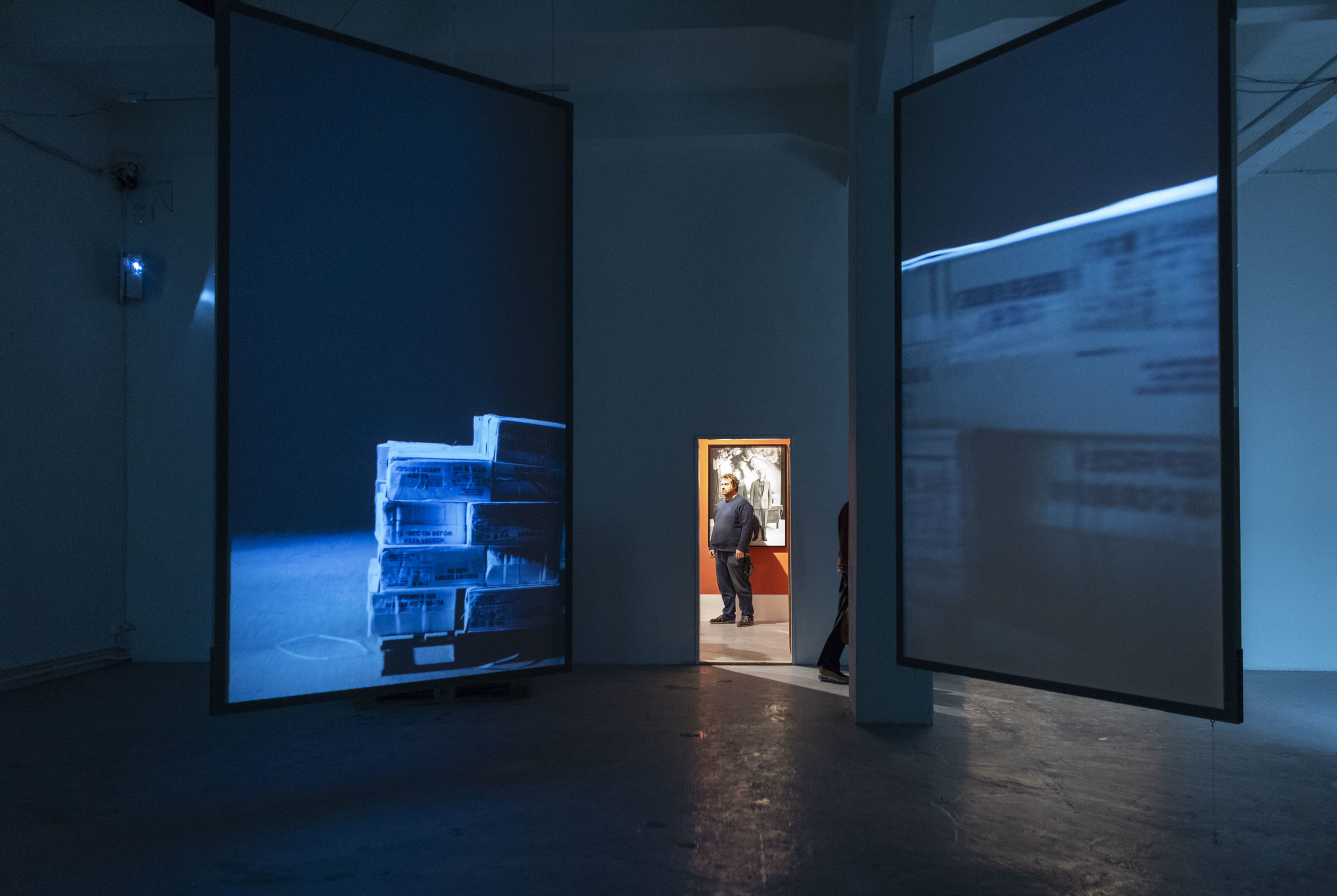 Installation view at the exhibition 'True Story' at Meetfactory, Prague in 2018.