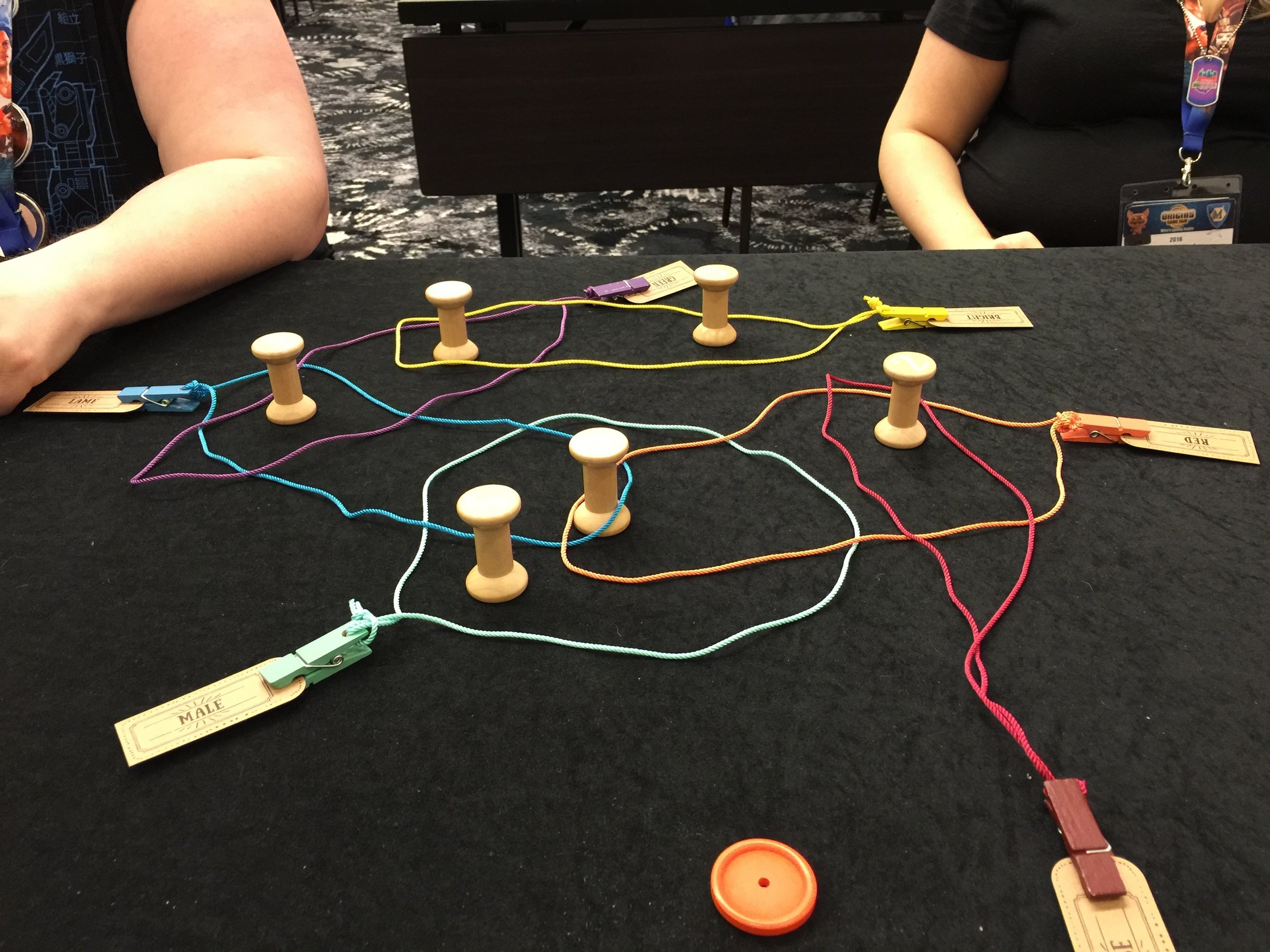 KNITWIT, a great game to use as a model for learning.