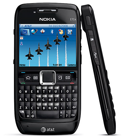 I'd of been very interested if Android appeared on the Nokia E71