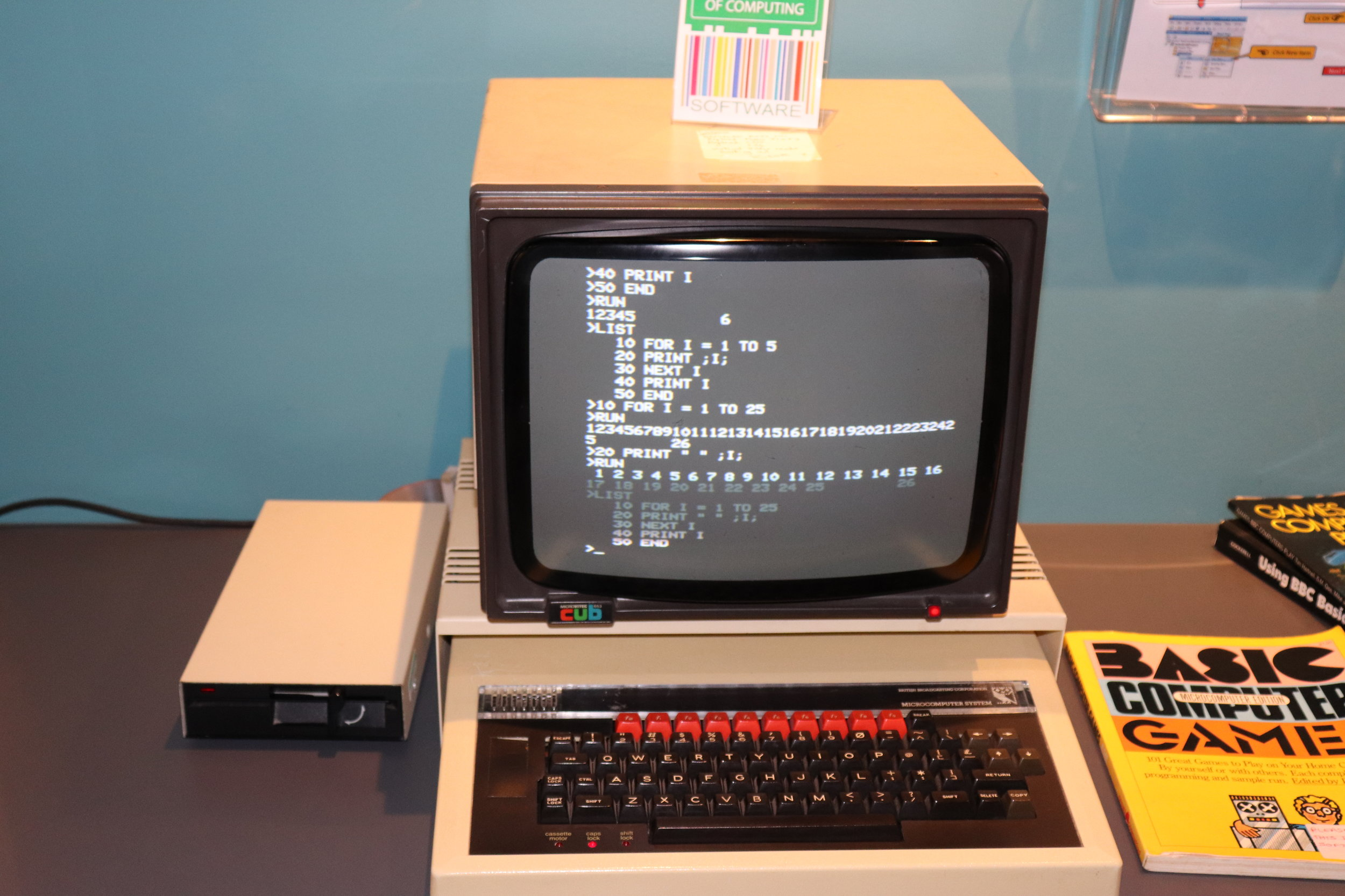The BBC Micro sent a shiver down my spine. I heard so much about how this machine did so much for computer literacy in schools - I never got it.