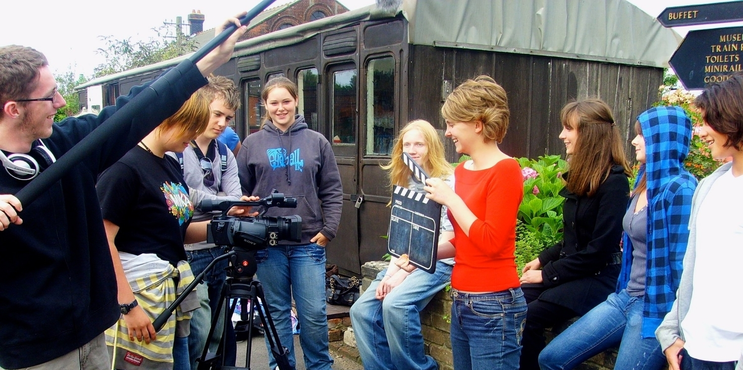 The Offshoot Foundation    Inspiring a New Generation of Film Makers    About Us