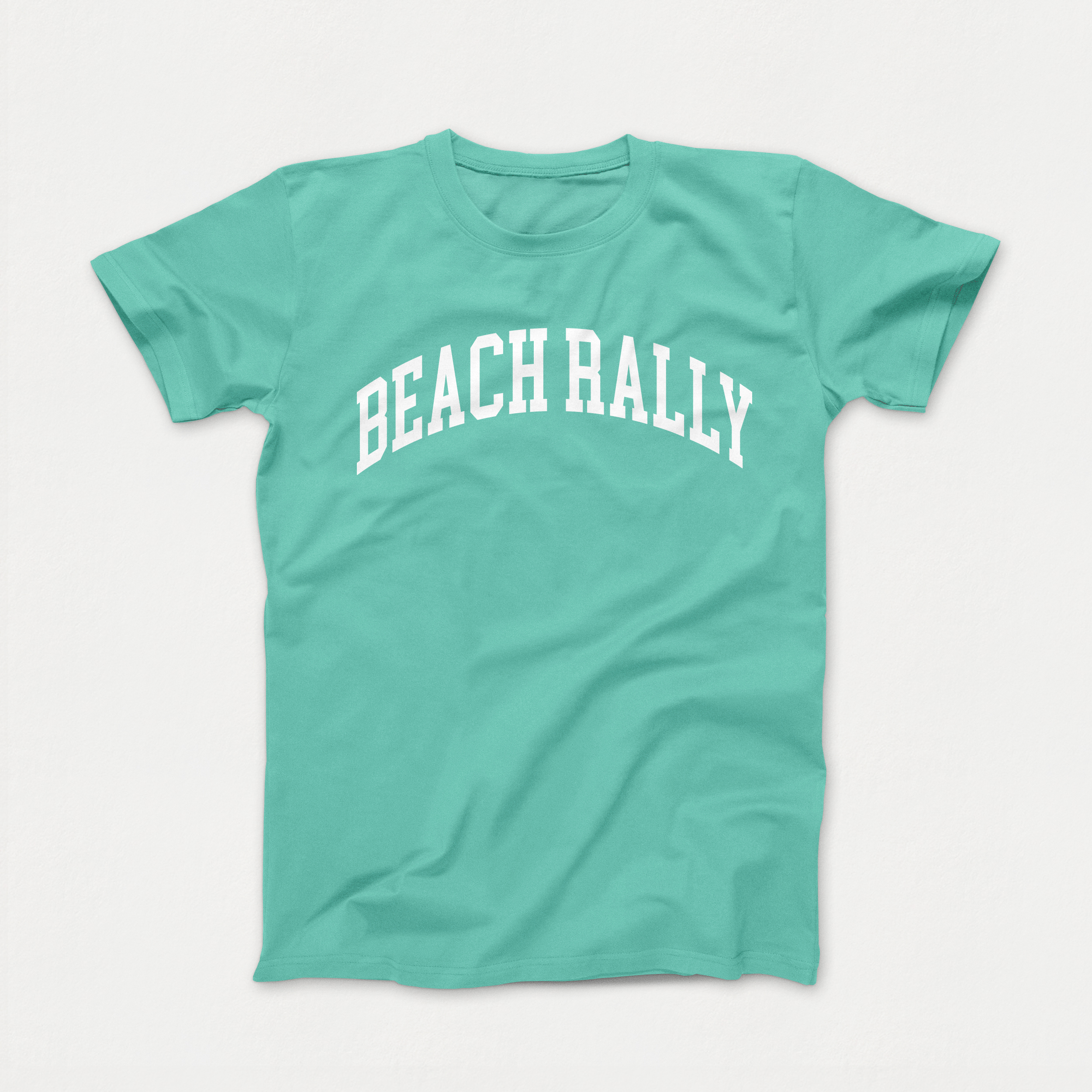 Mint Beach Rally Tshirt $15
