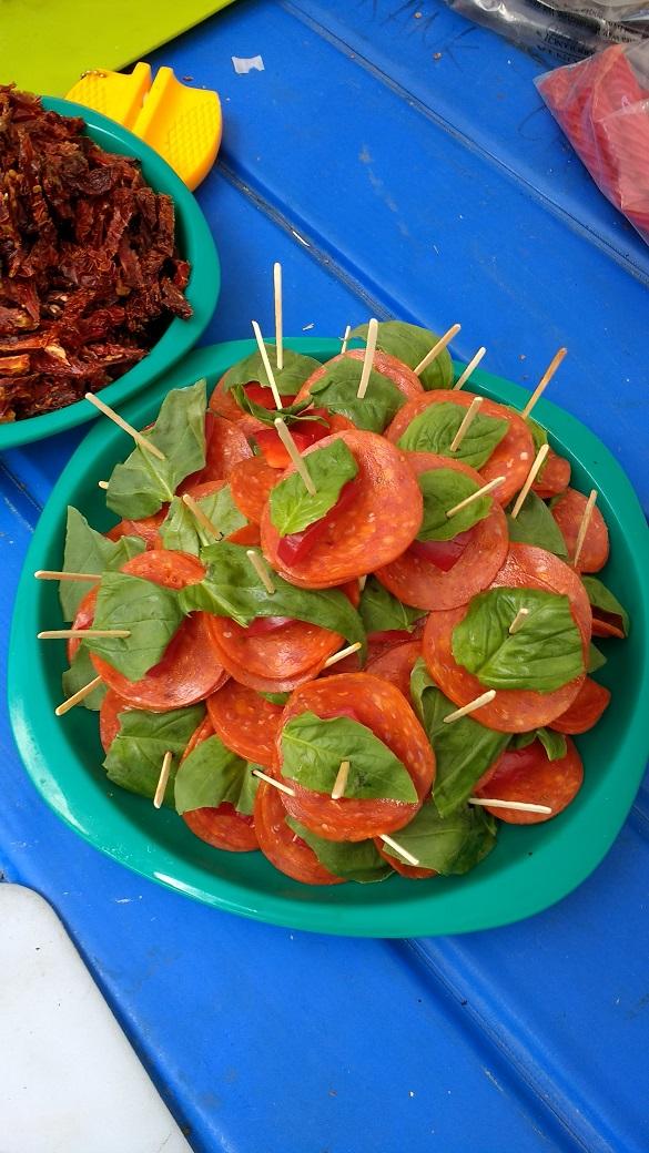 Appetizer - Basil, Bell Pepper & Pepperoni