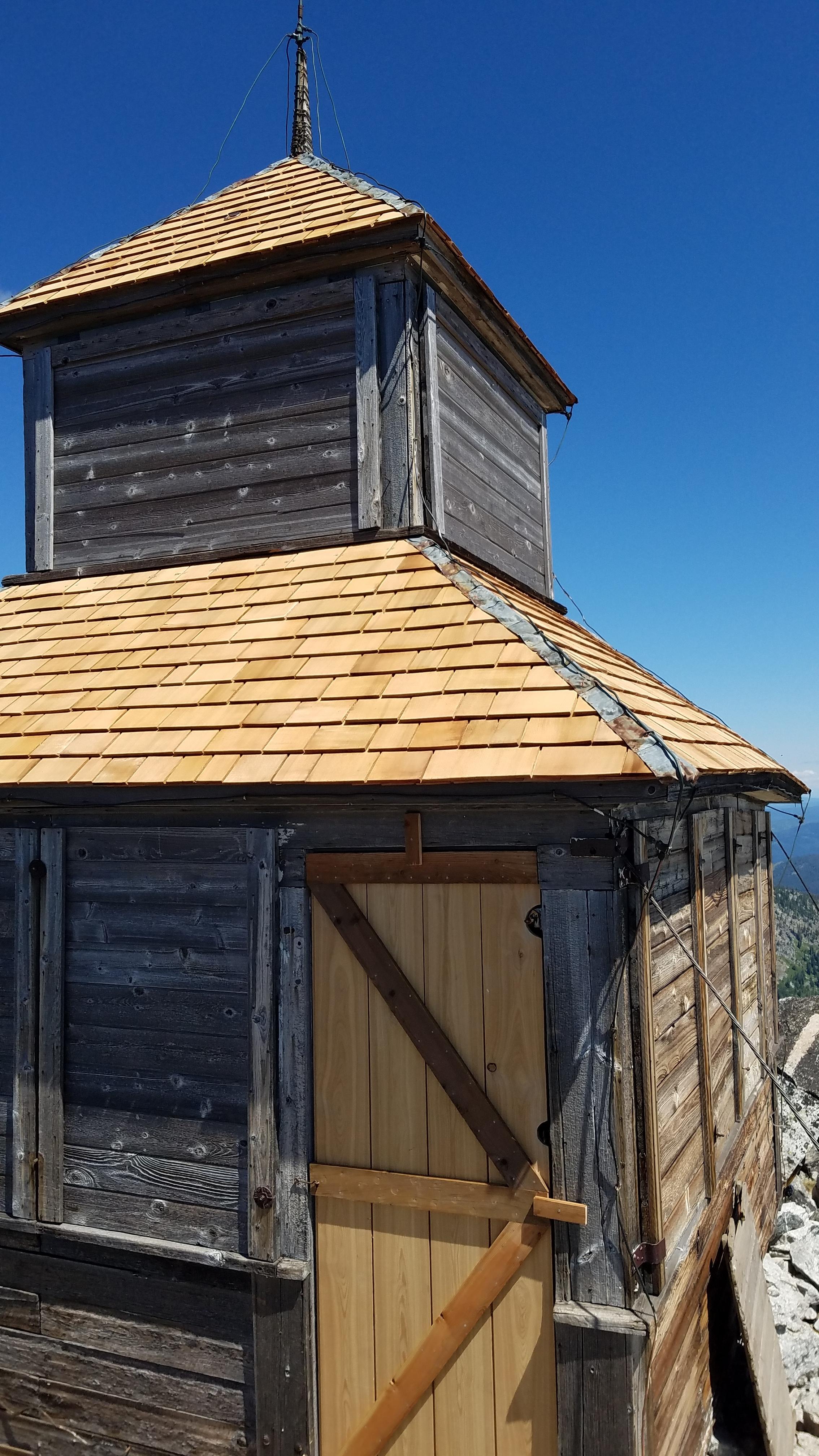 New roofs & door.