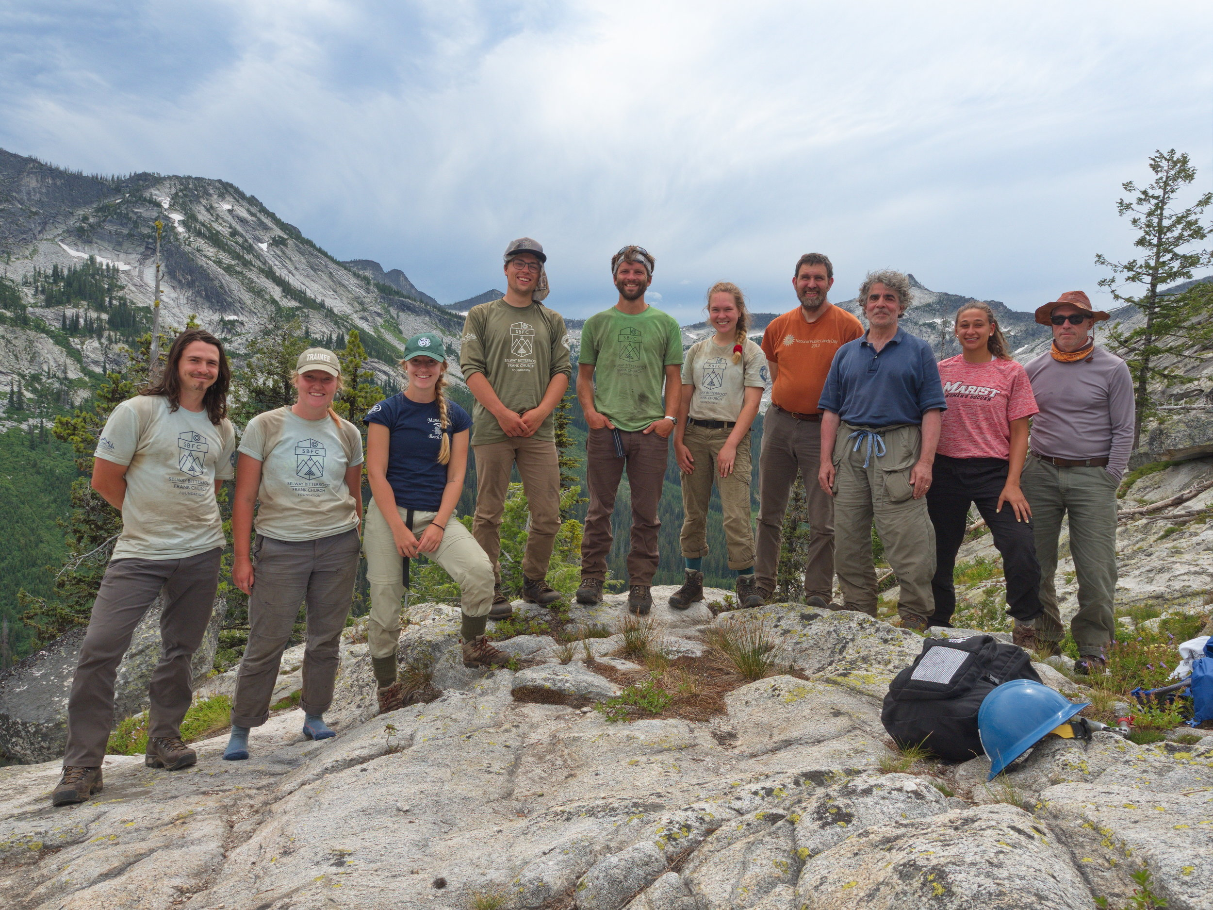 What a crew!  Staff, WR Interns, and Sierra Club Volunteers.