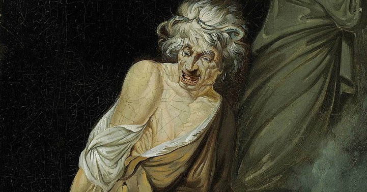 """La bruja Ericto, descrita por Lucano en su """"Farsalia"""""""