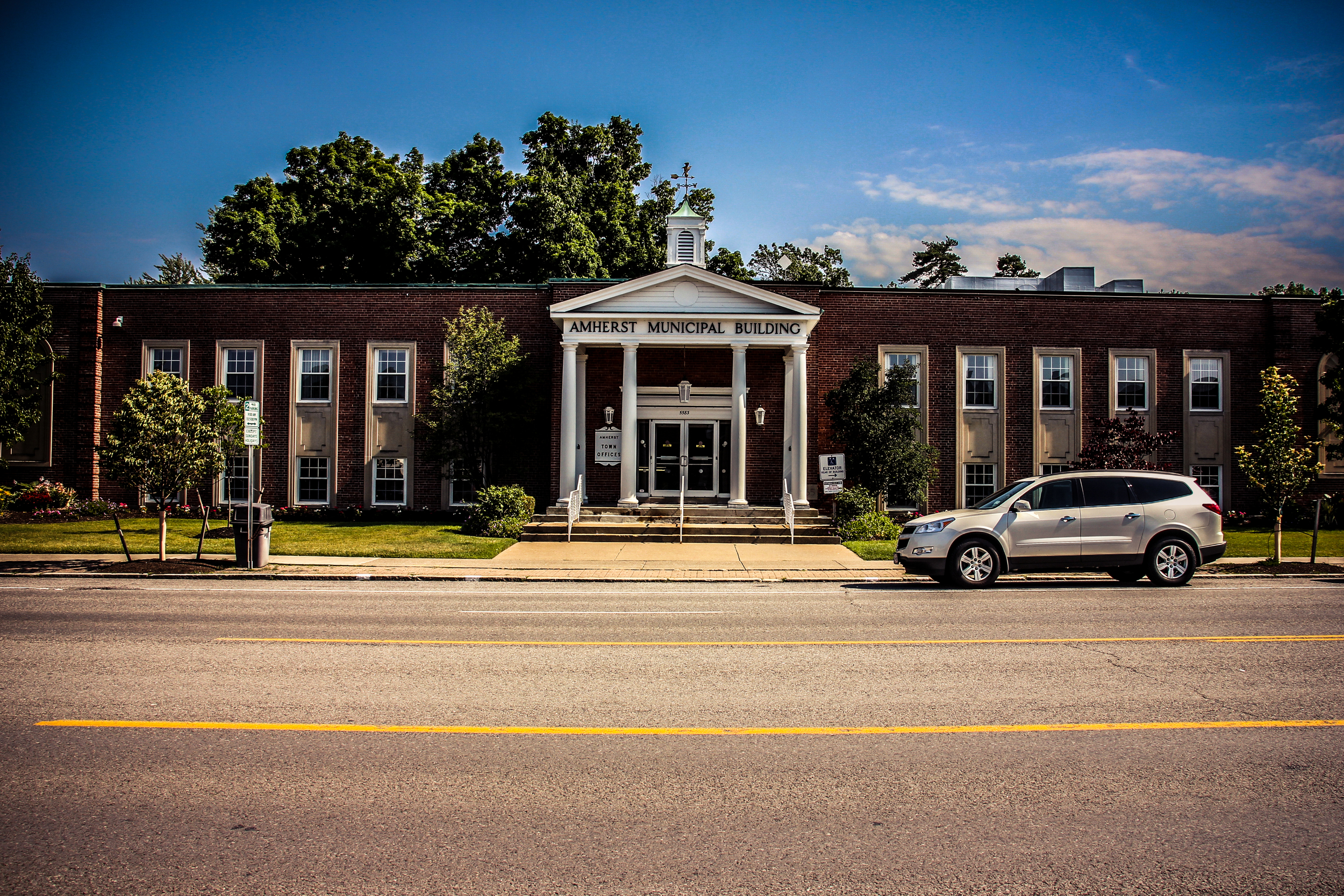 Amherst Municipal Building in Williamsville, NY.