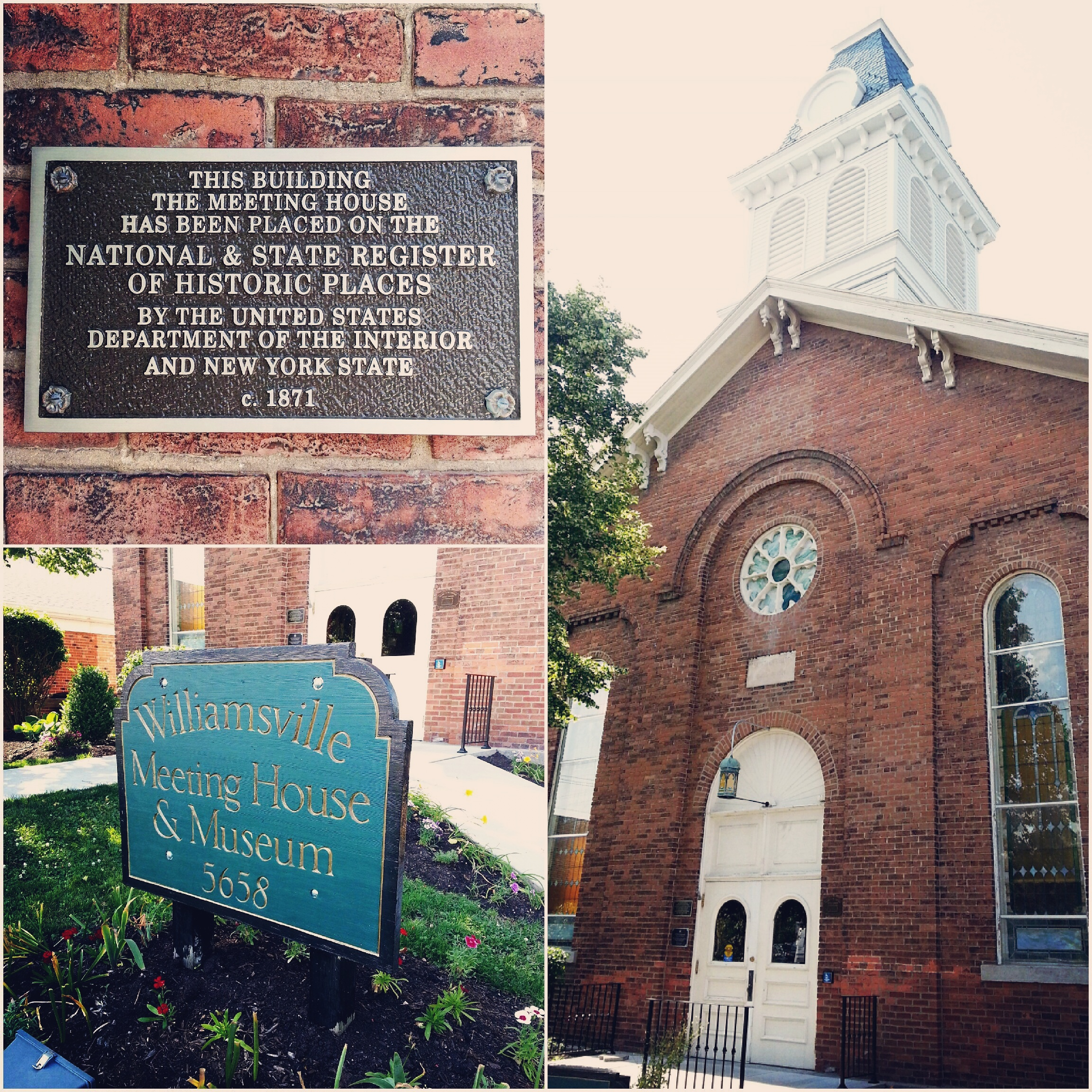 Meeting House Church.  Since 1871.