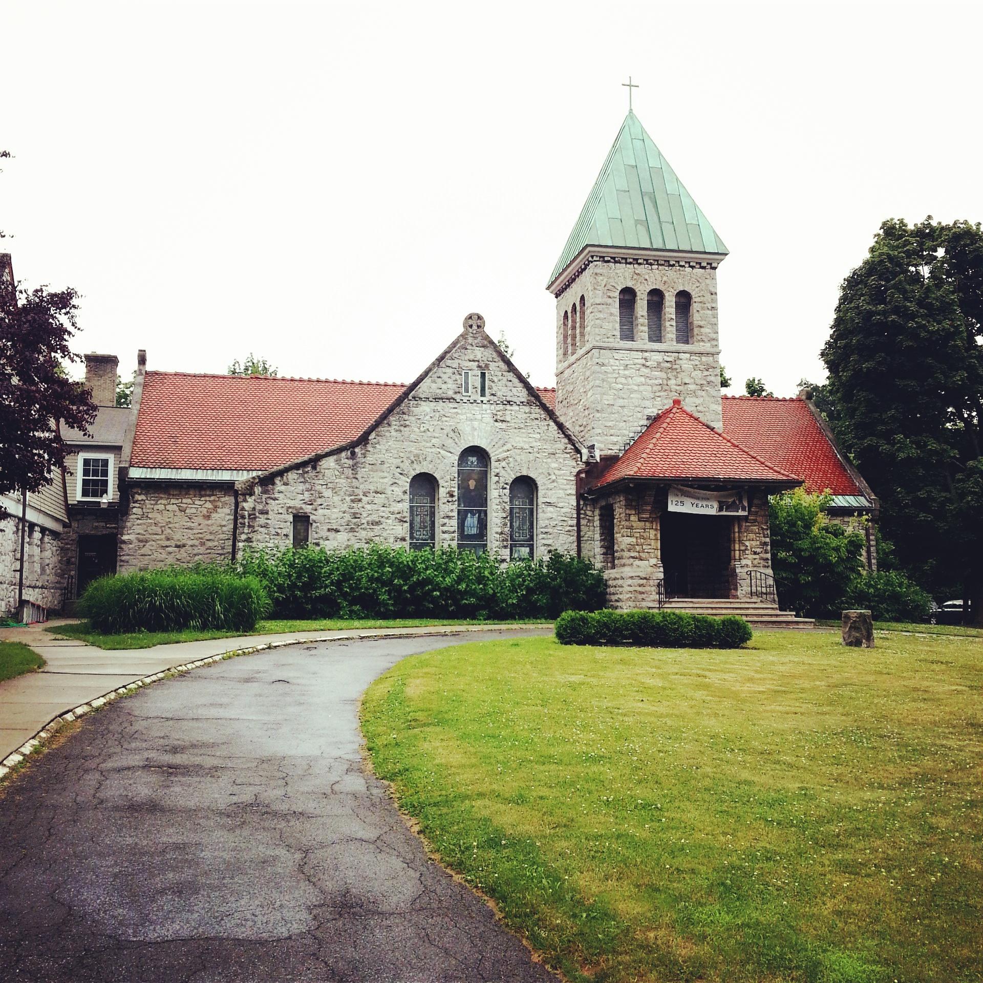 Church Of the Good Shepherd.  Just opposite the Martin's House.