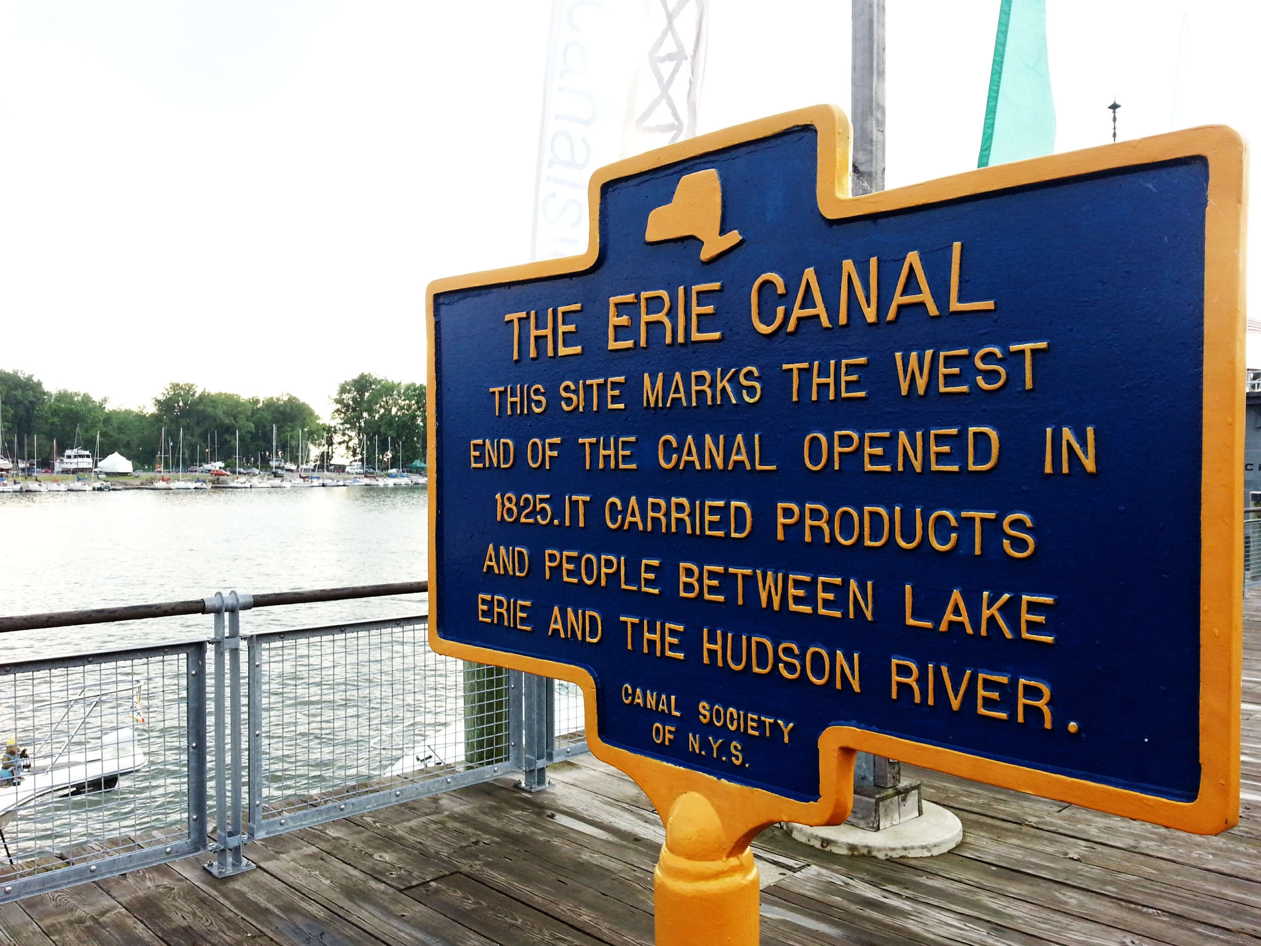 Canalside Buffalo.