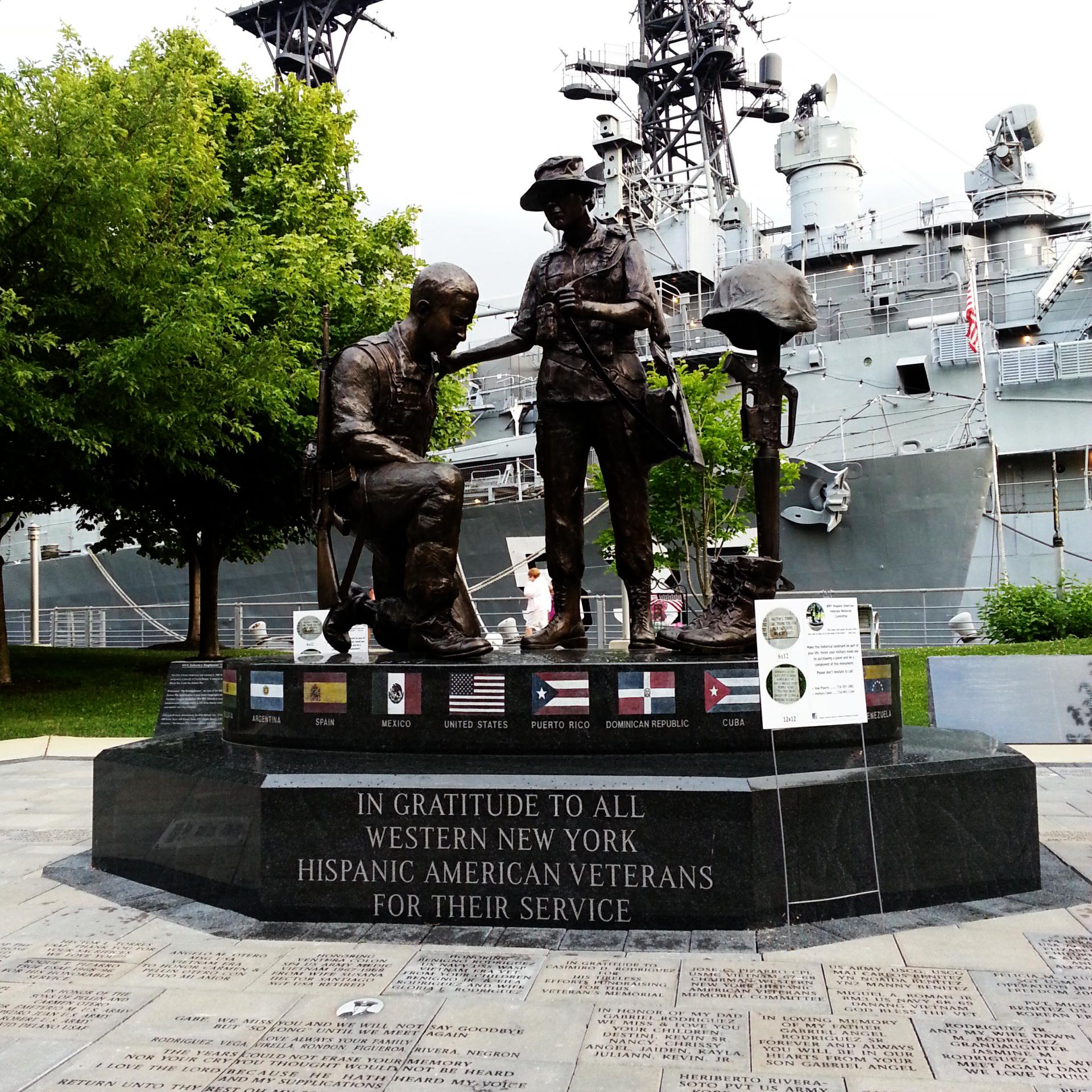 Veteran Park Memorial in Buffalo, NY.