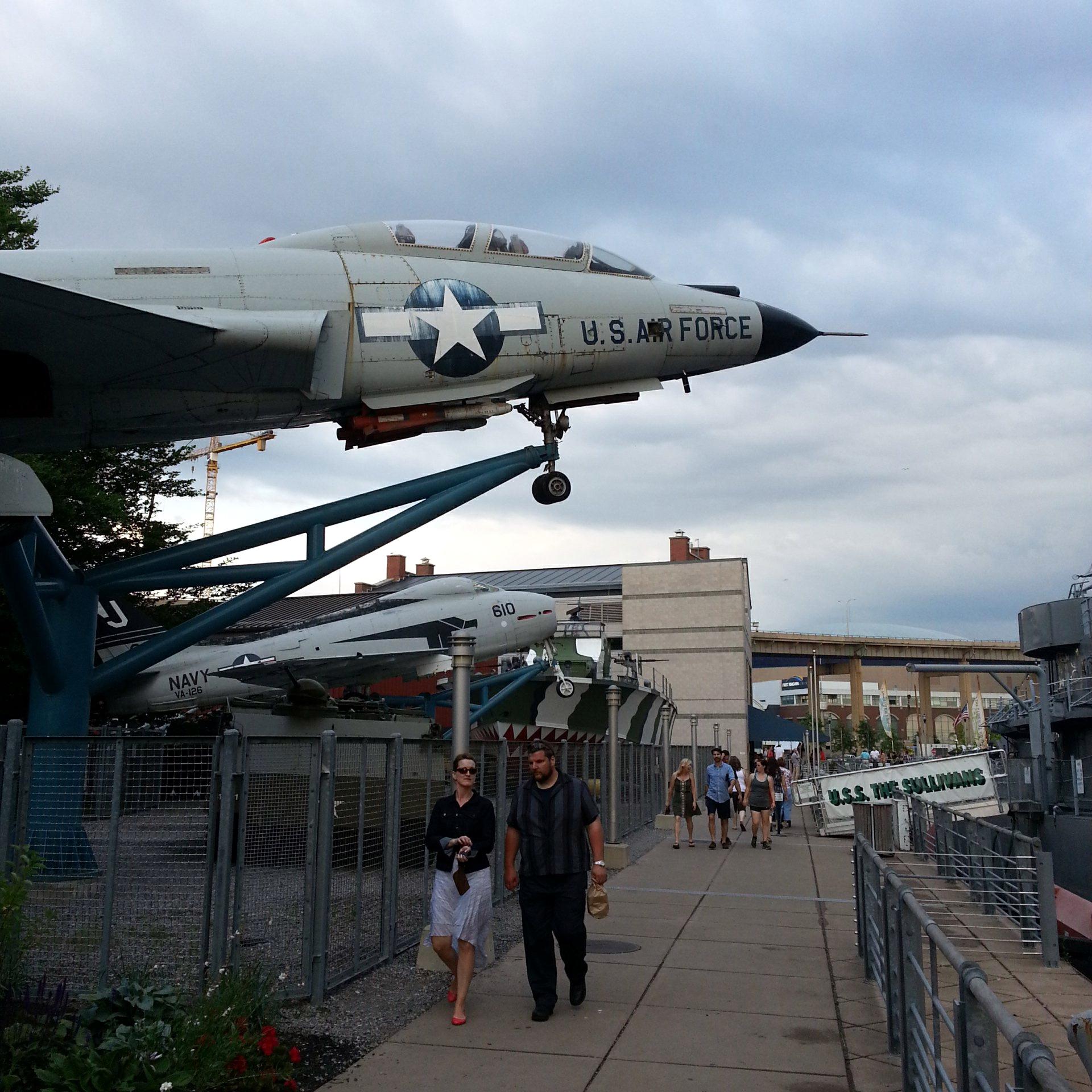 Buffalo & Erie County Naval & Military Park.