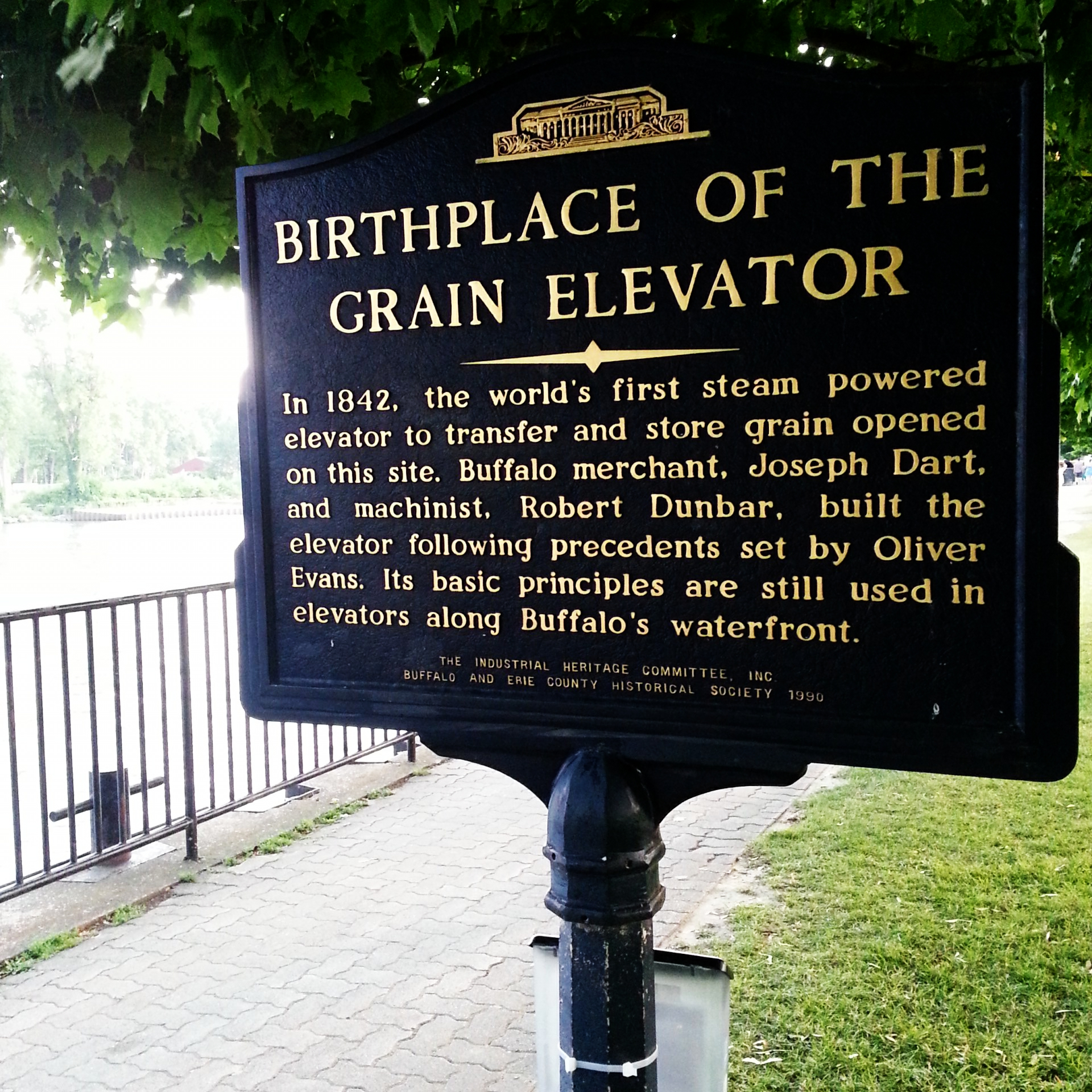 Buffalo, NY is the birthplace of the grain elevator.