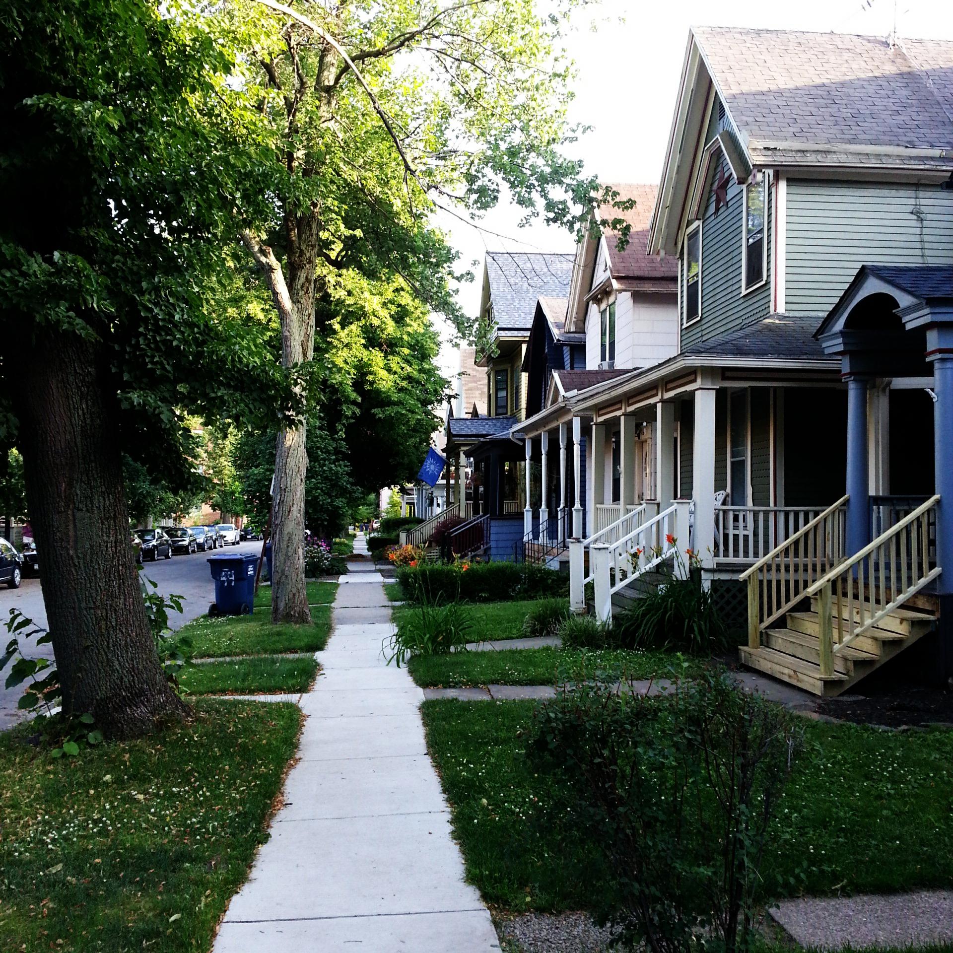 Buffalo, NY.  Allentown impressions...