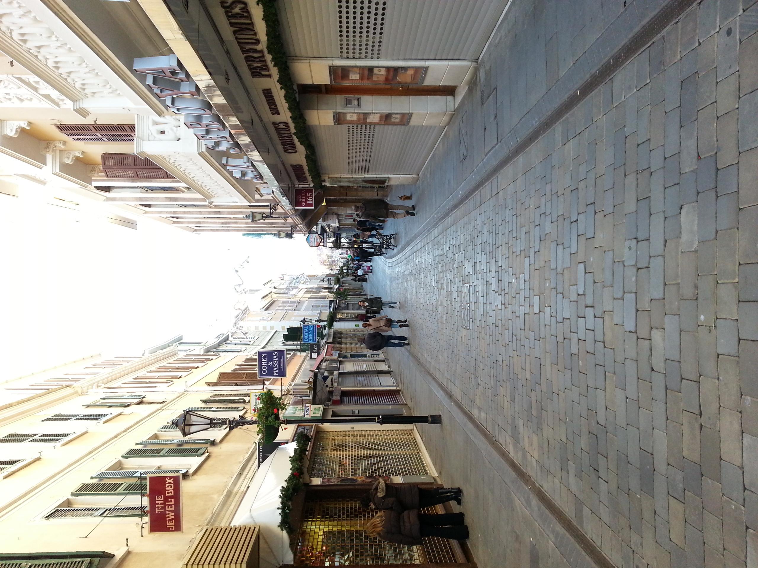 Gibraltar . Main Street.