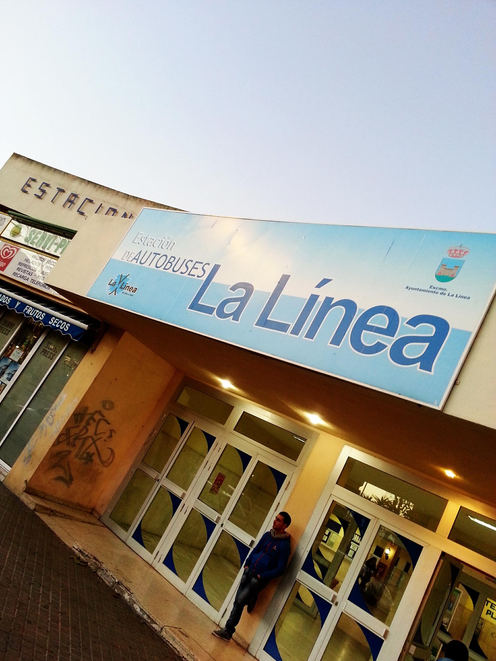 La Línea de la Concepción, Spain.  The intercity bus station.