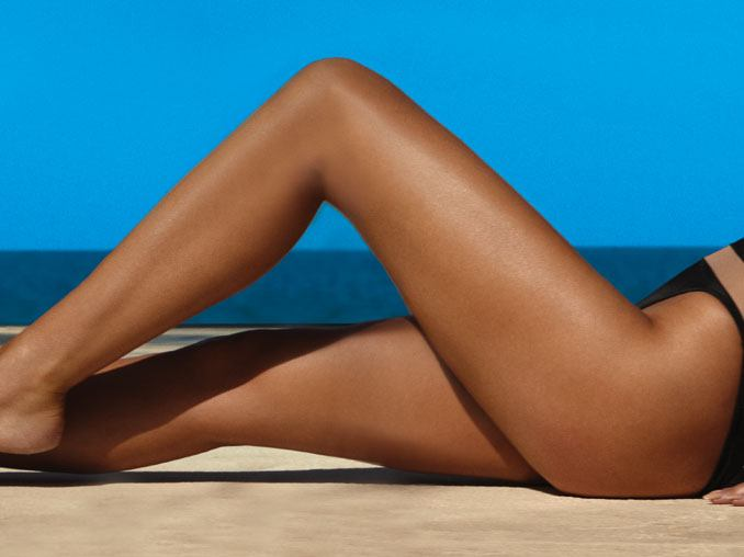 SUNLESS SPRAY TANS - WHITE BUNS ARE FOR BURGERS.