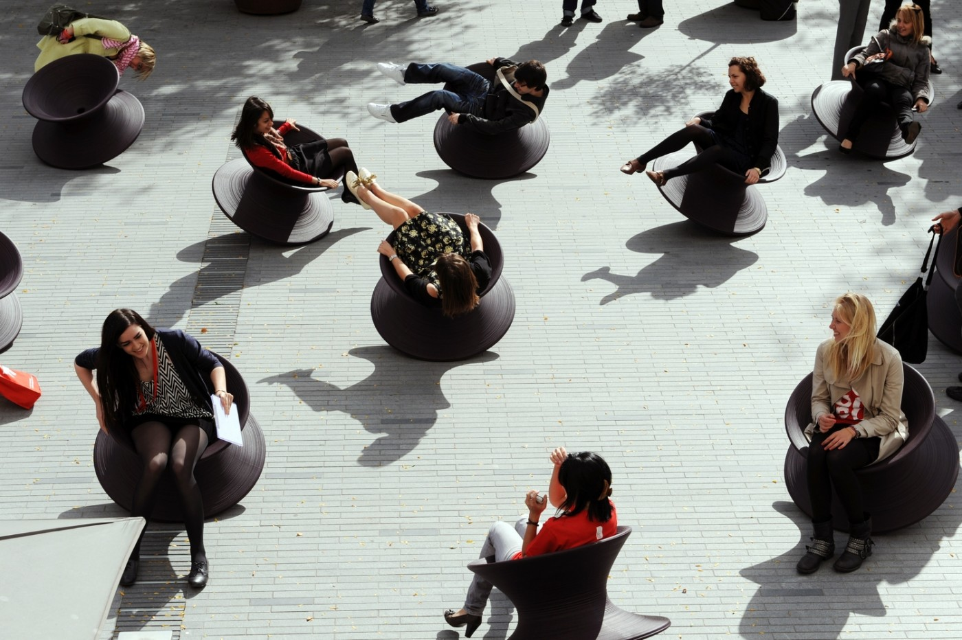 Spun Chair I LOVE this chair- I can't help but laugh every time I am SPUN.