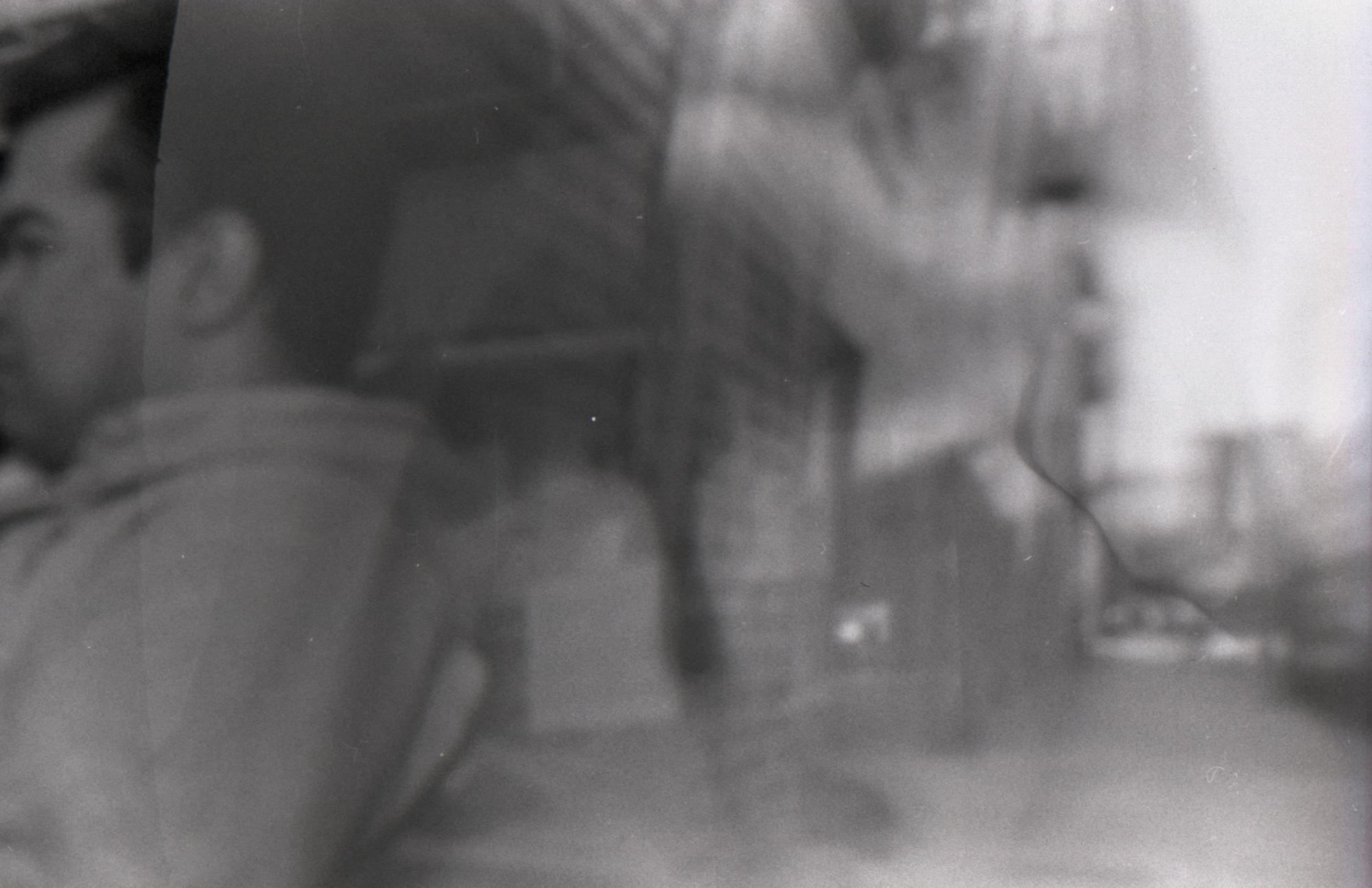 Pinhole Book - 35mm B/W Film:Overlapping Exposures