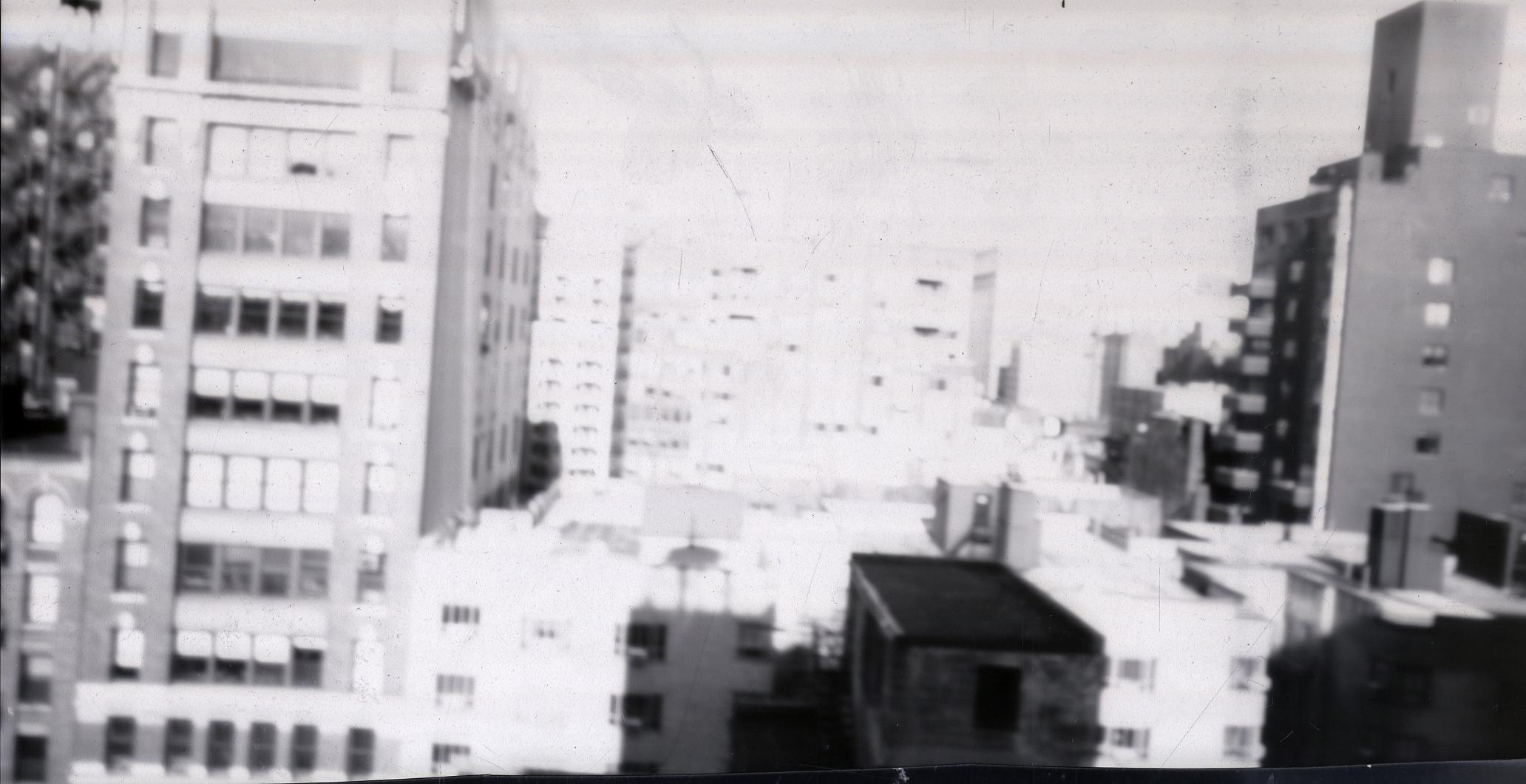 Pinhole Book - 35mm B/W Film - 30 second exposure