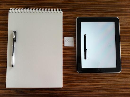 Sketchbook vs. Tablet