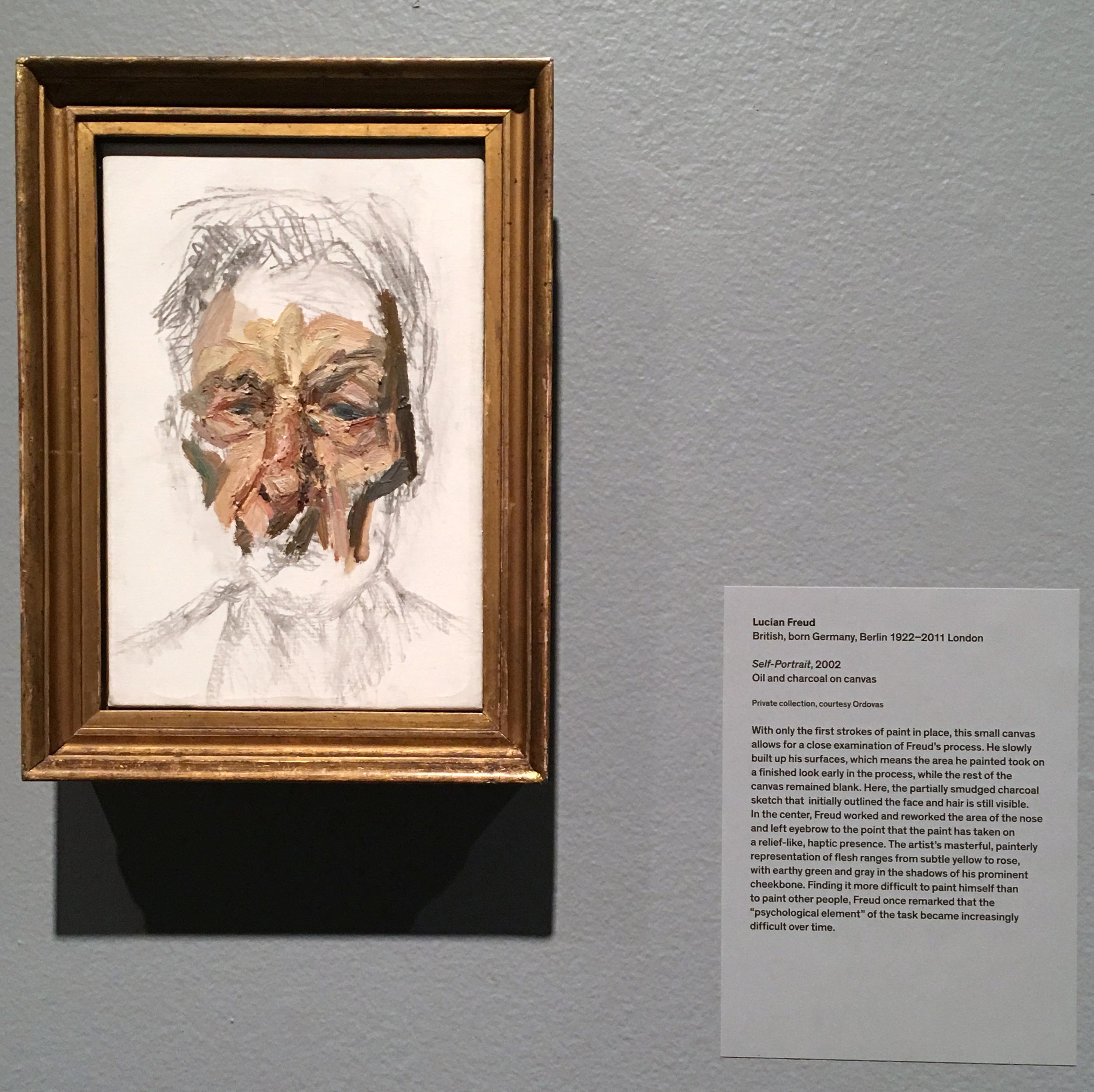 Lucian Freud, Self Portrait, 2002