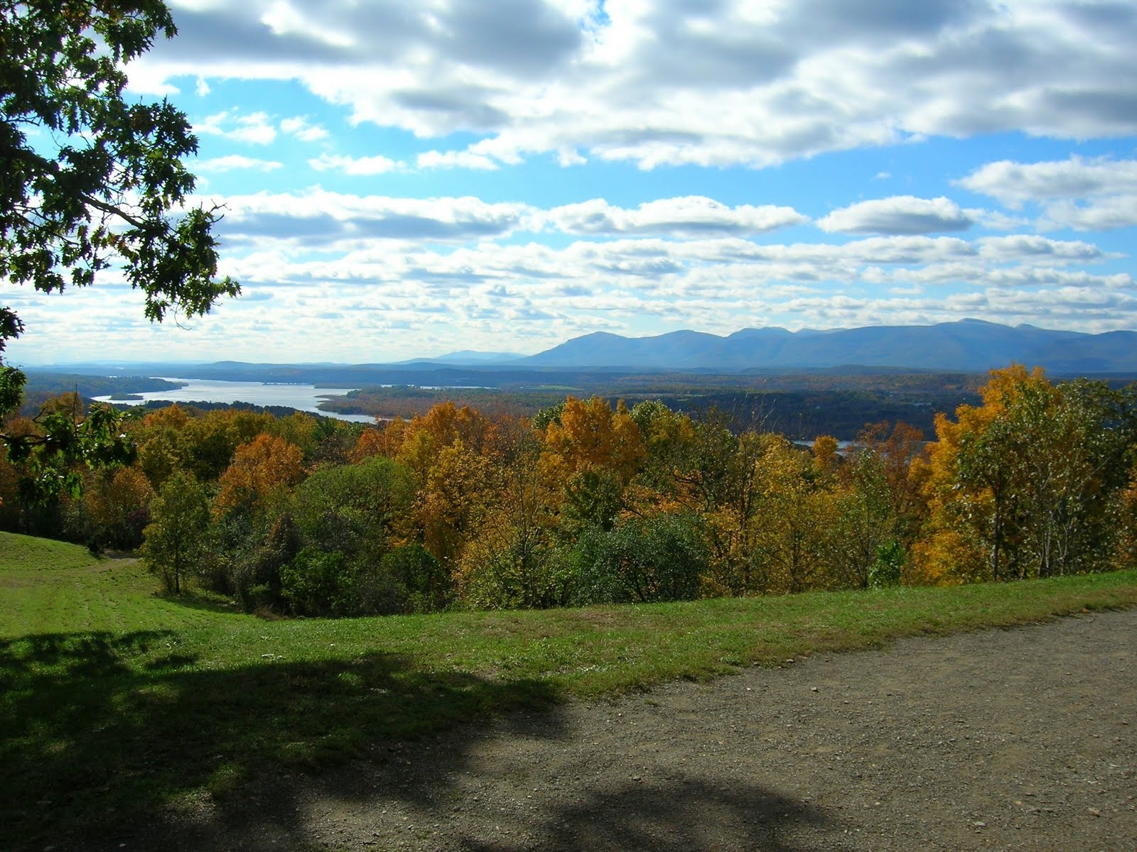 View of Hudson River from Olana