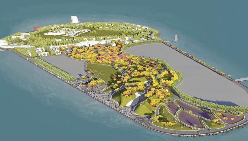 Governor's Island Current Plan