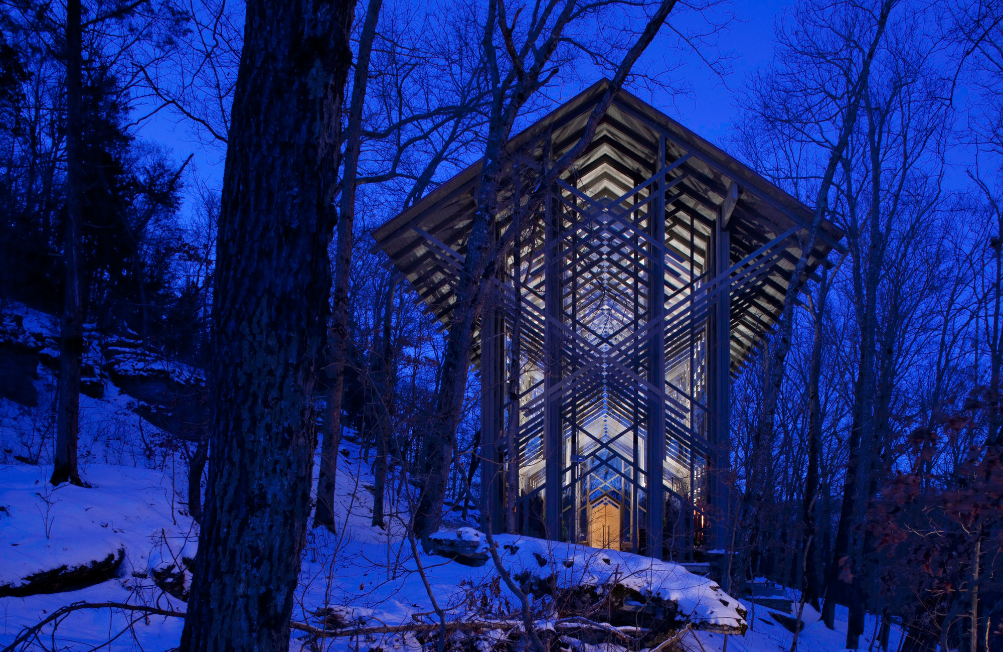 Thorncrown Chapel - at night.jpg