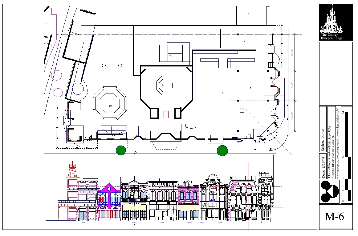 Disney Blue Prints: Main Street USA