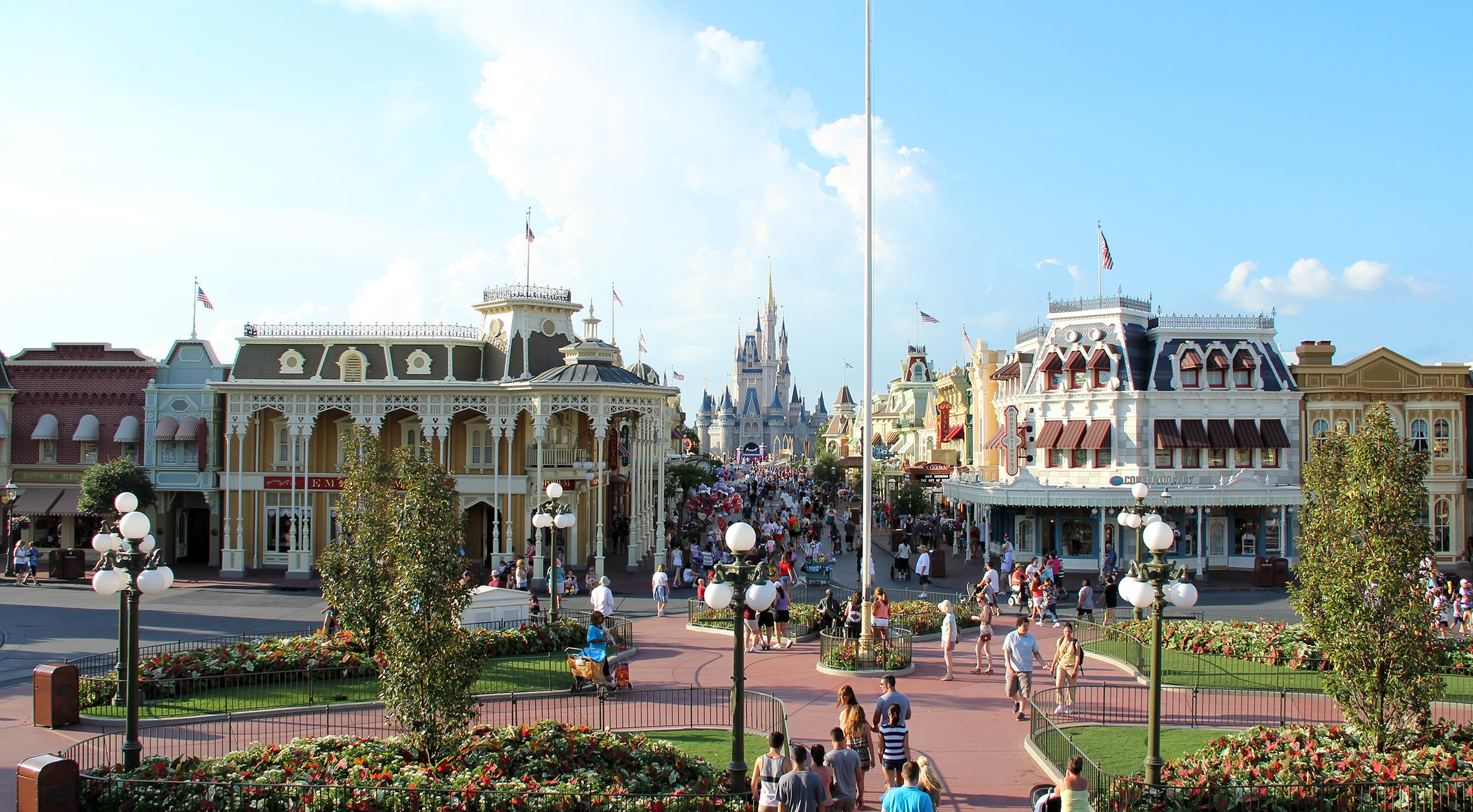 Main St., USA, at the Magic Kingdom