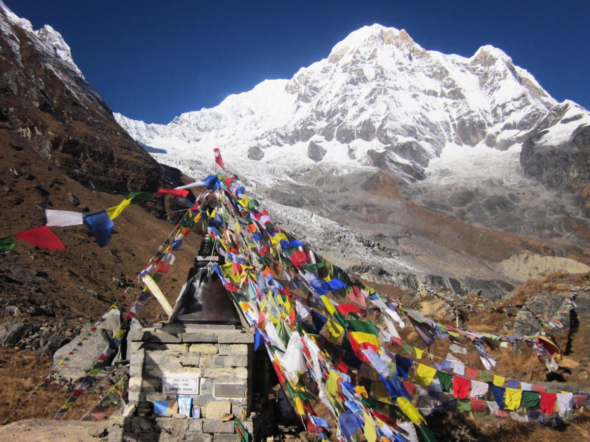 Base Camp at Mt. Everest