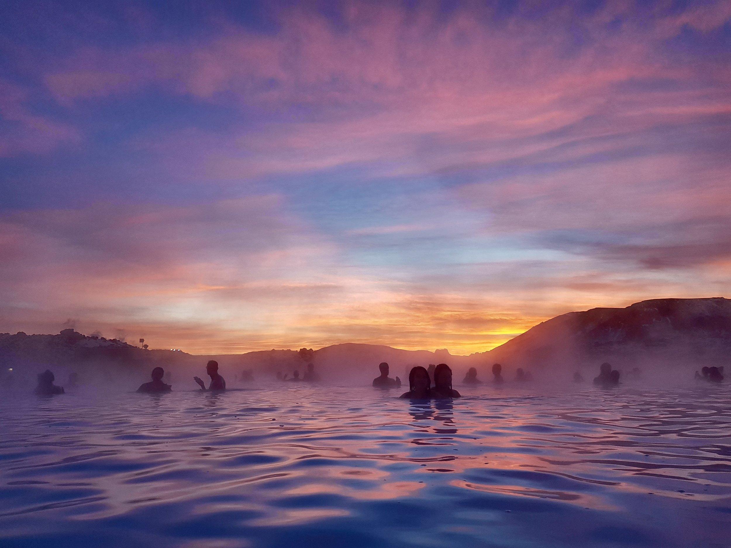 Sunrise at Blue Lagoon