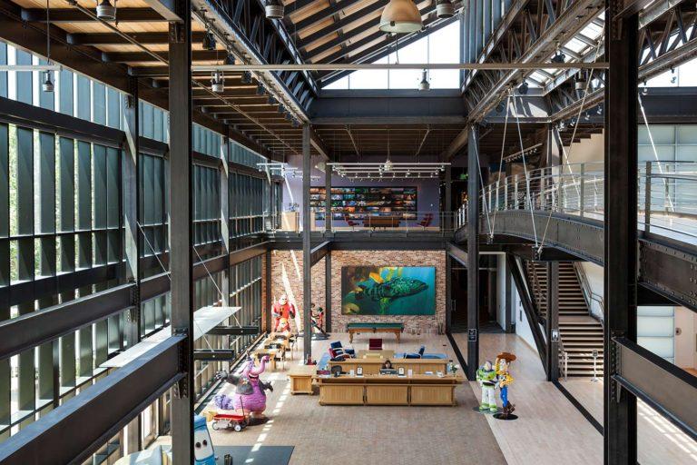 Pixar's Steve Job's Building deserves it's own blog post!