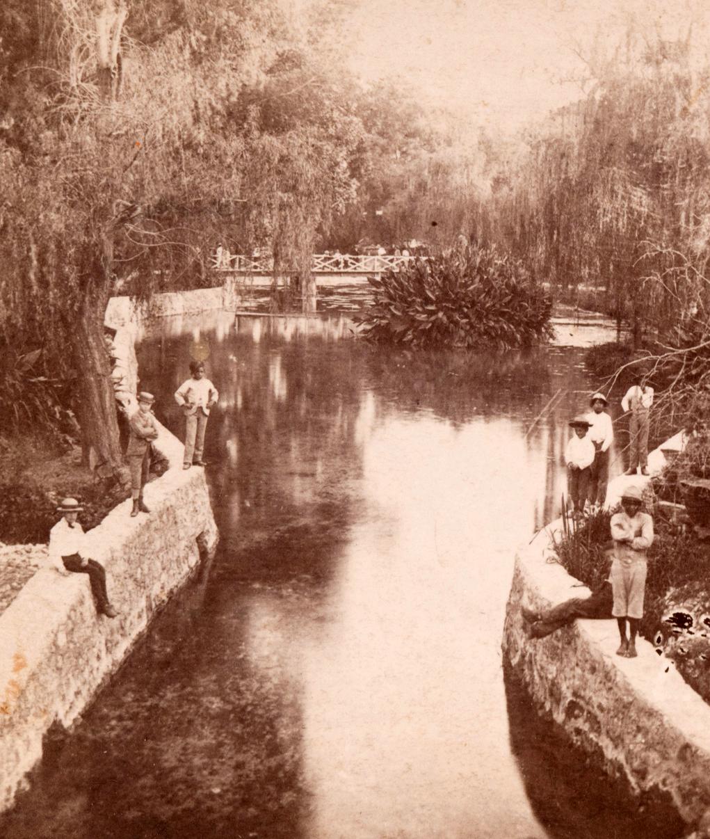 San Pedro Springs Park, 1860s