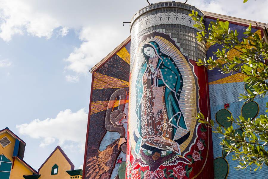La Veladora Mural by Jesse Trevino