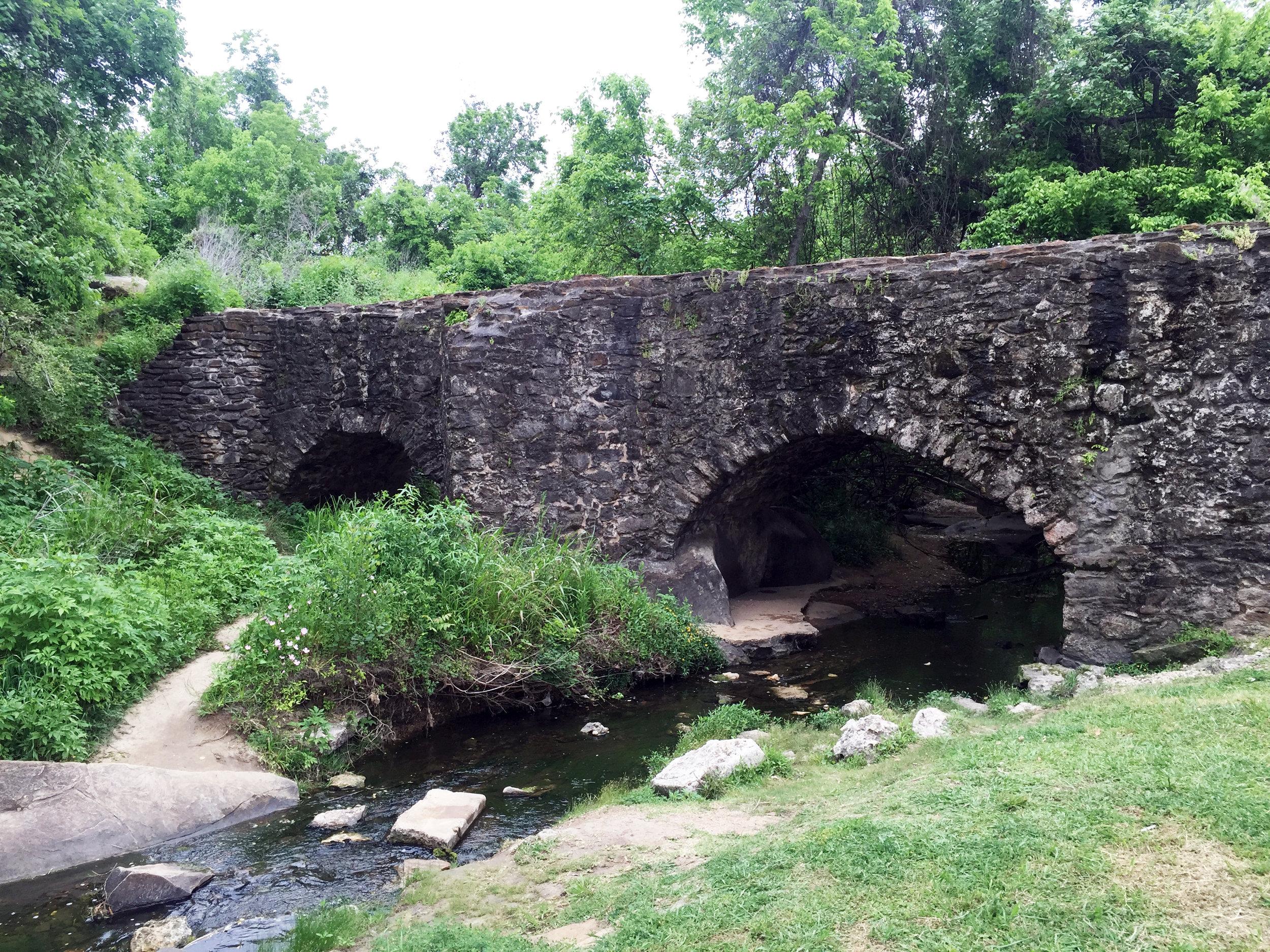 The Mission Espada Aqueduct, 1740