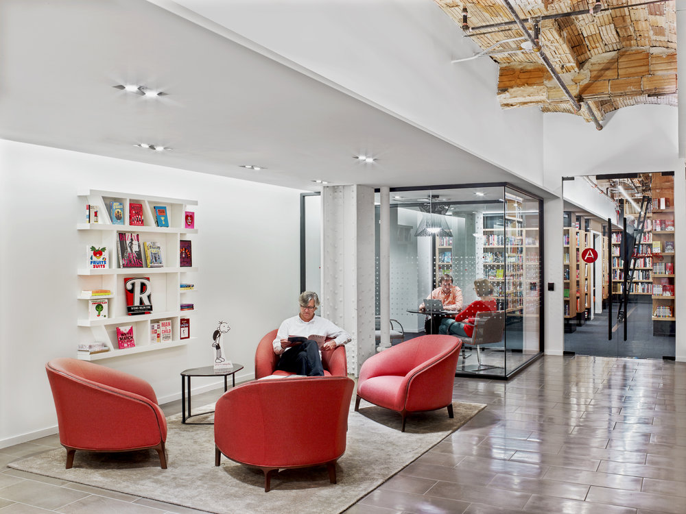 Abrams Books Workplace – Spacesmith LLP