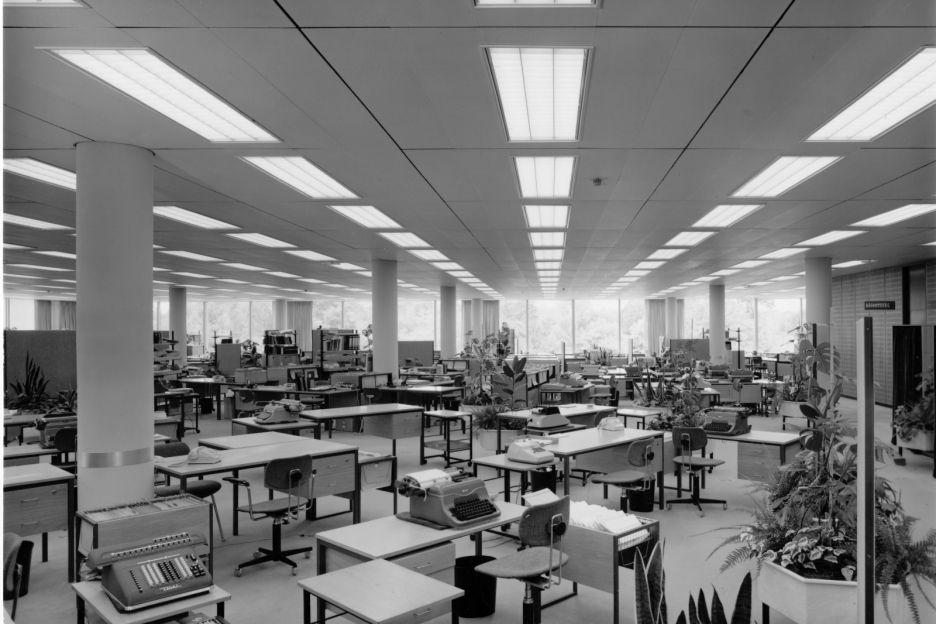 Bürolandschaft Concept 1965 Osram Sylvania, Munich