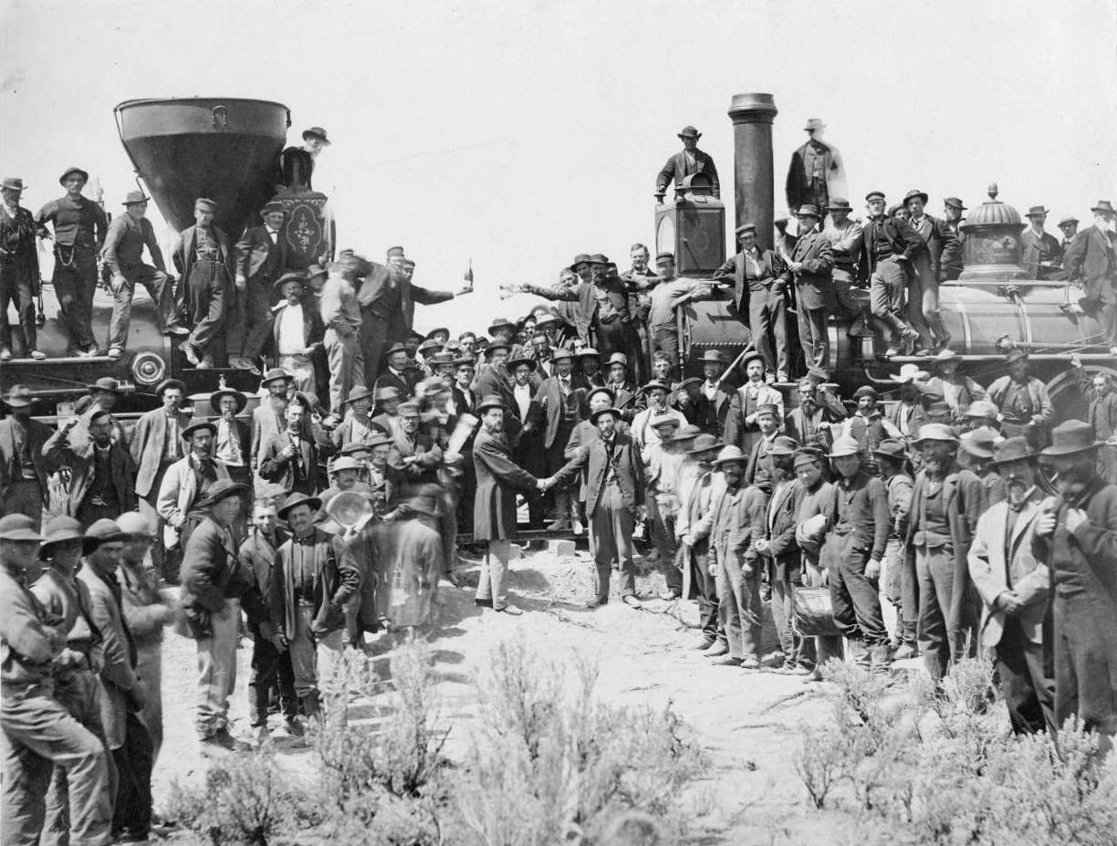 Golden Spike 1869