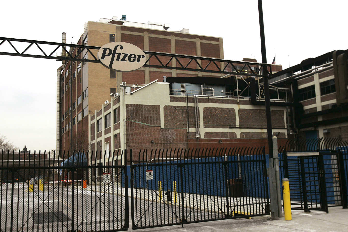 The Old Pfizer Williamsburg Plant