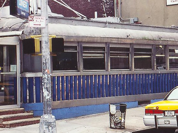 River Diner - 11th Avenue & West 37th StreetBuilt by the Kullman Dining Car CompanyDemolished 2004Featured in the Martin Scorcese film After Hours.